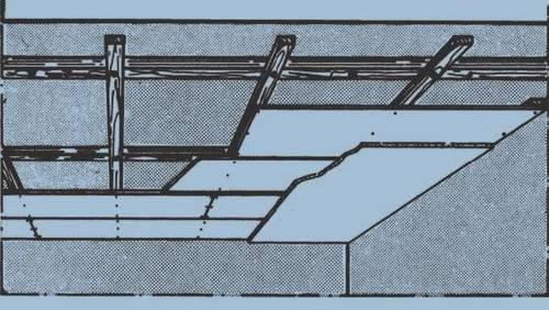 D121 - double ossature - simple recouvrement
