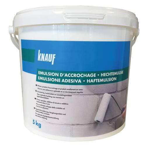 Emulsion d'accrochage
